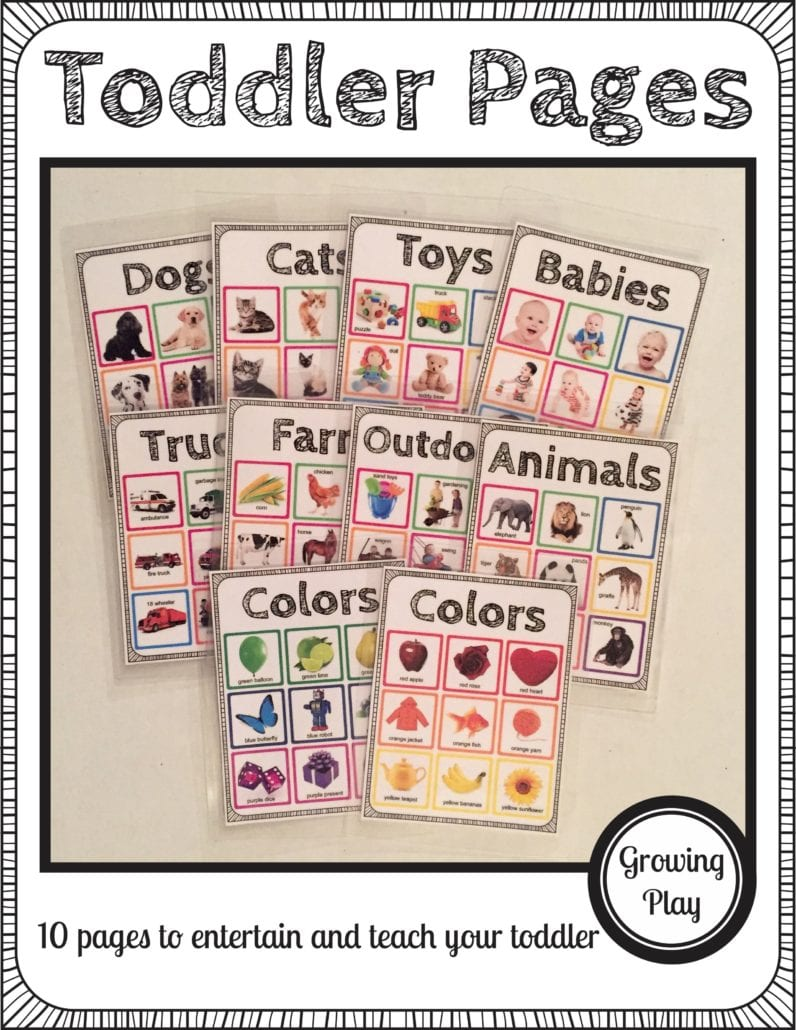Toddler Pages
