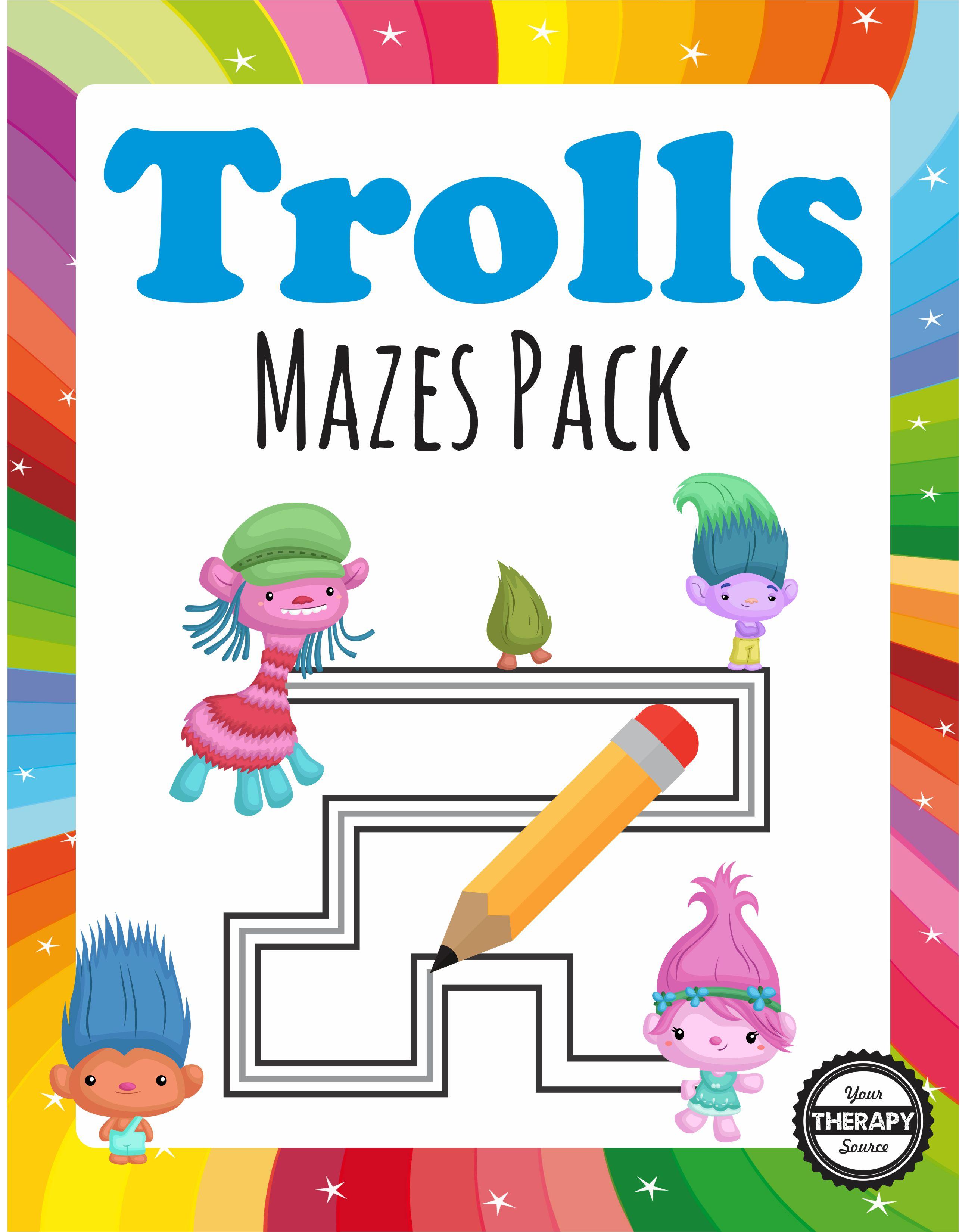 Trolls Mazes