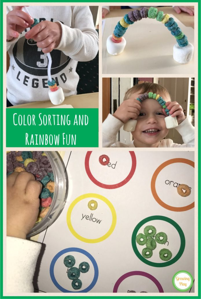Color Sorting and Rainbow Fun