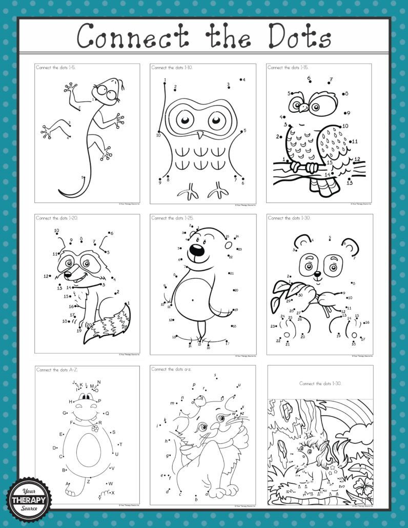 Pirate Connect The Dots Free Printable From Growing Play Growing