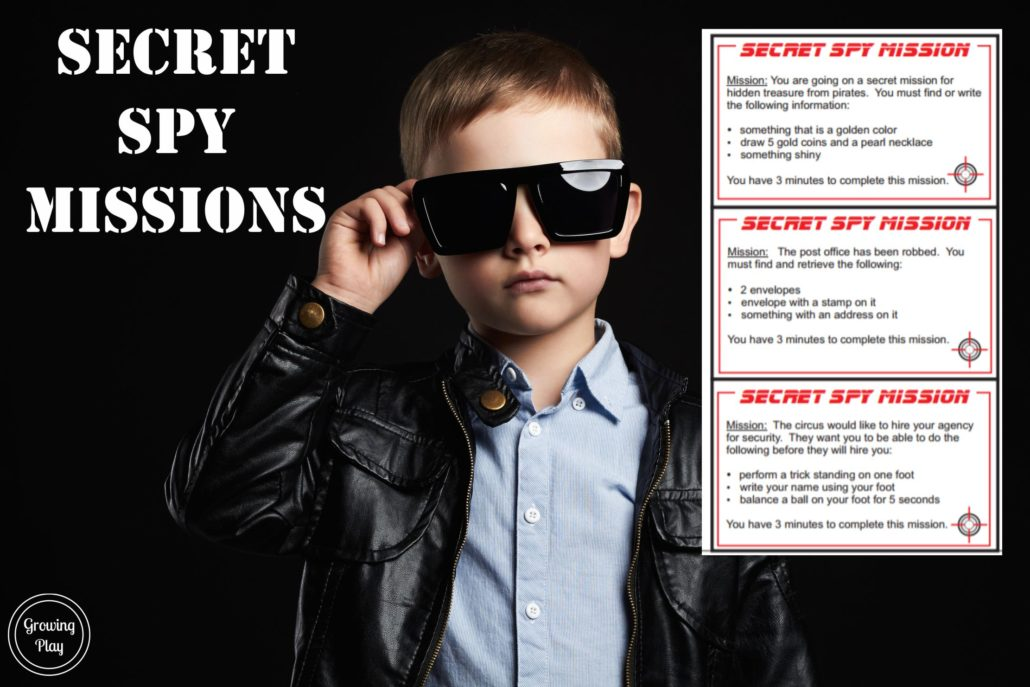 Secret Agent Packet Freebie
