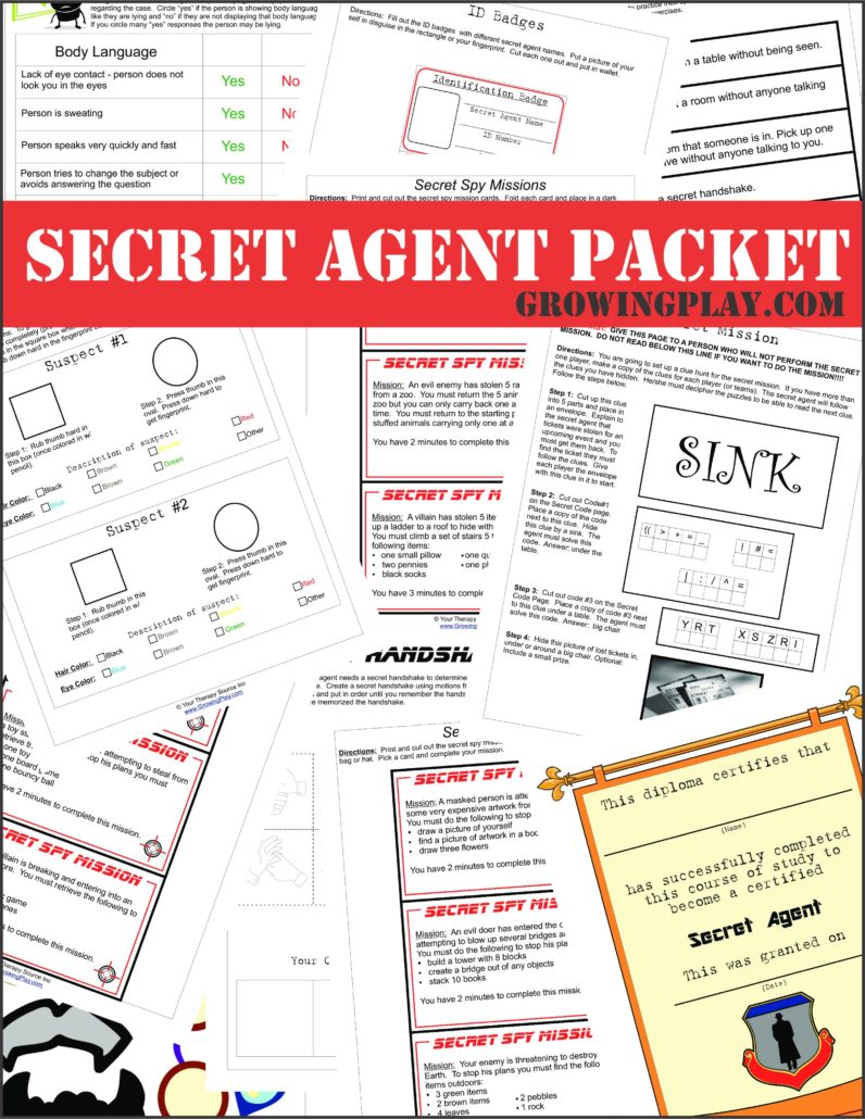 Secret Agent Packet