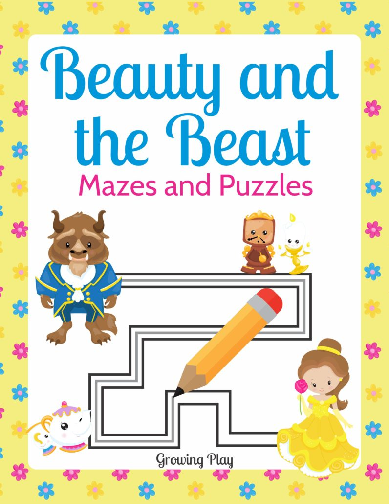 Beauty and the Beast Mazes and Puzzles