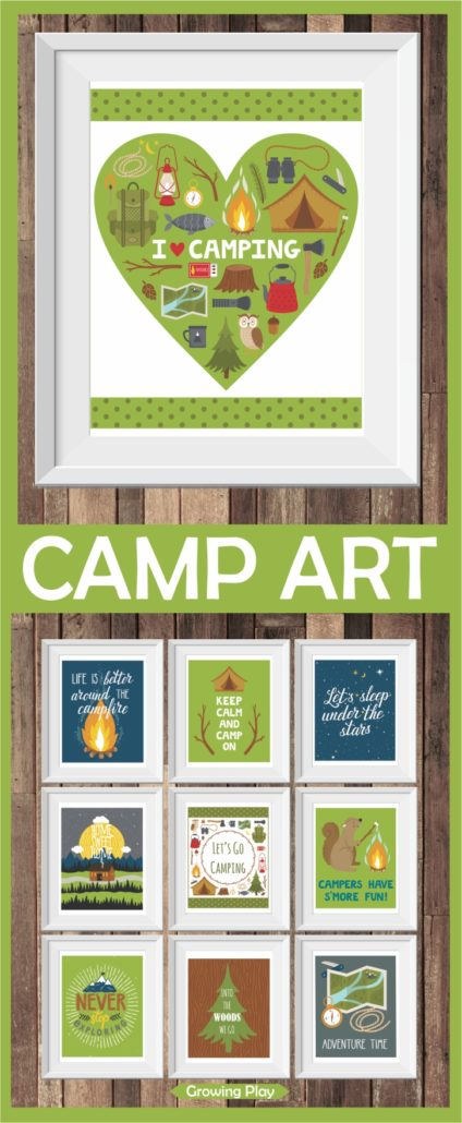 Camp Art Freebie Picture Large