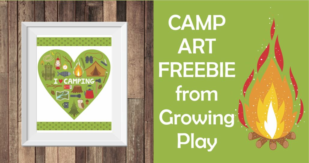 Camp Art Freebie Picture