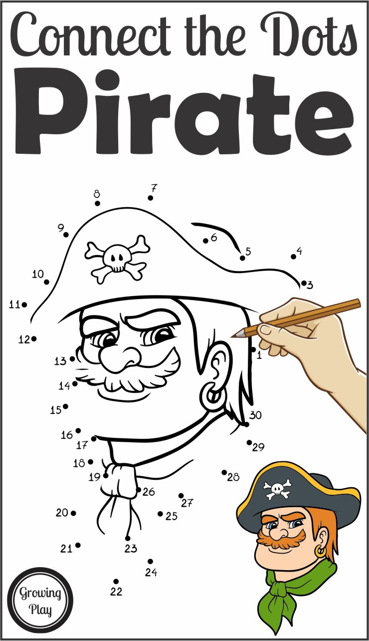 Pirate Connect the Dots