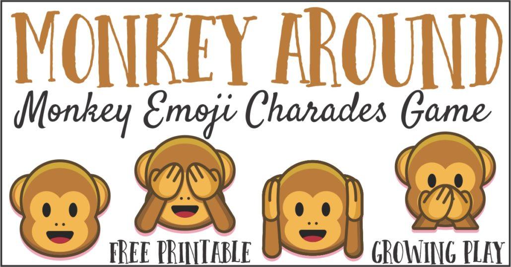 Monkey Around Emoji Game