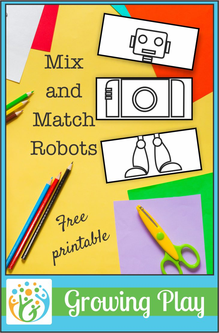 Mix and Match Robots from Growing Play
