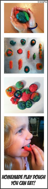 Homemade Play Dough You Can Eat!
