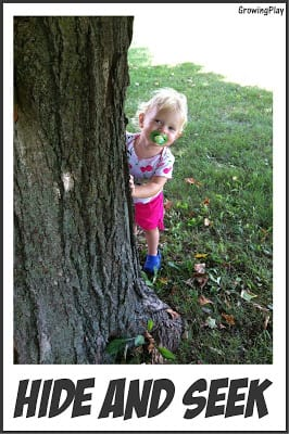 Toddler Time: Hide and Seek