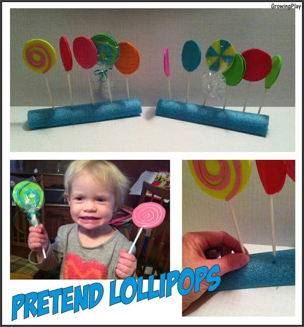 Pretend Lollipops