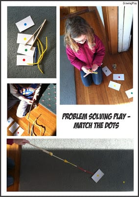 Problem Solving Play – Matching Dots