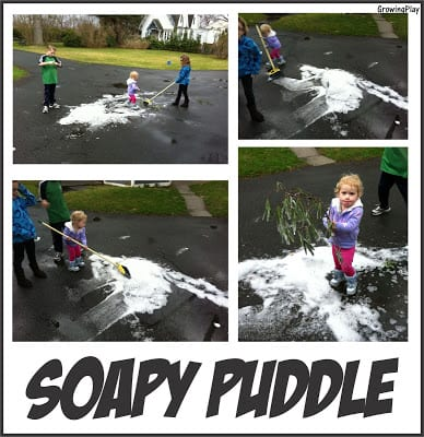Soapy Puddle – Simple Play