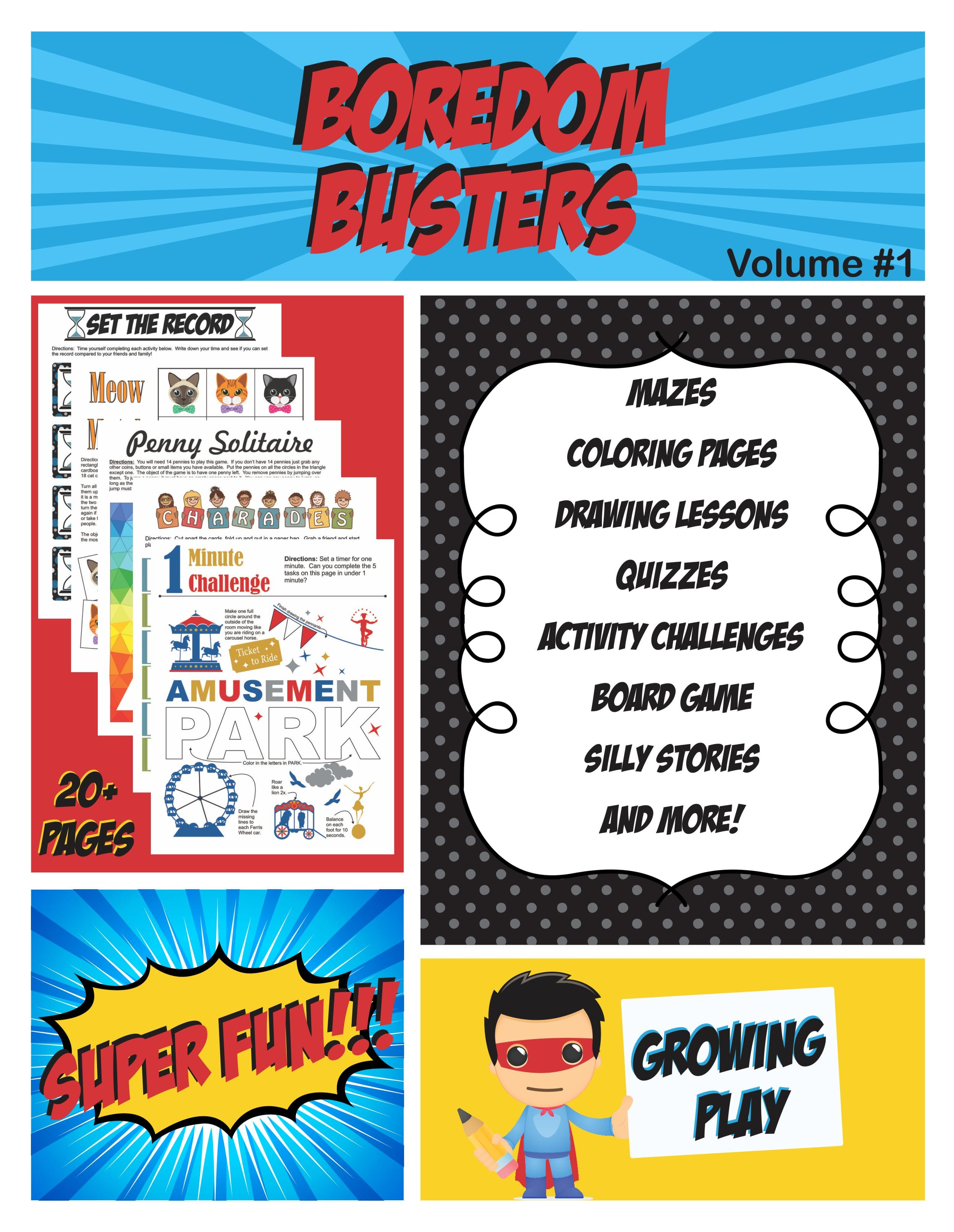 Boredom Busters Volume #1