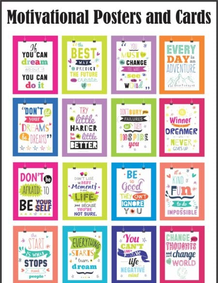 Motivational Posters and Cards