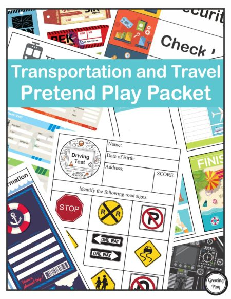 Transportation and Travel Pretend Play
