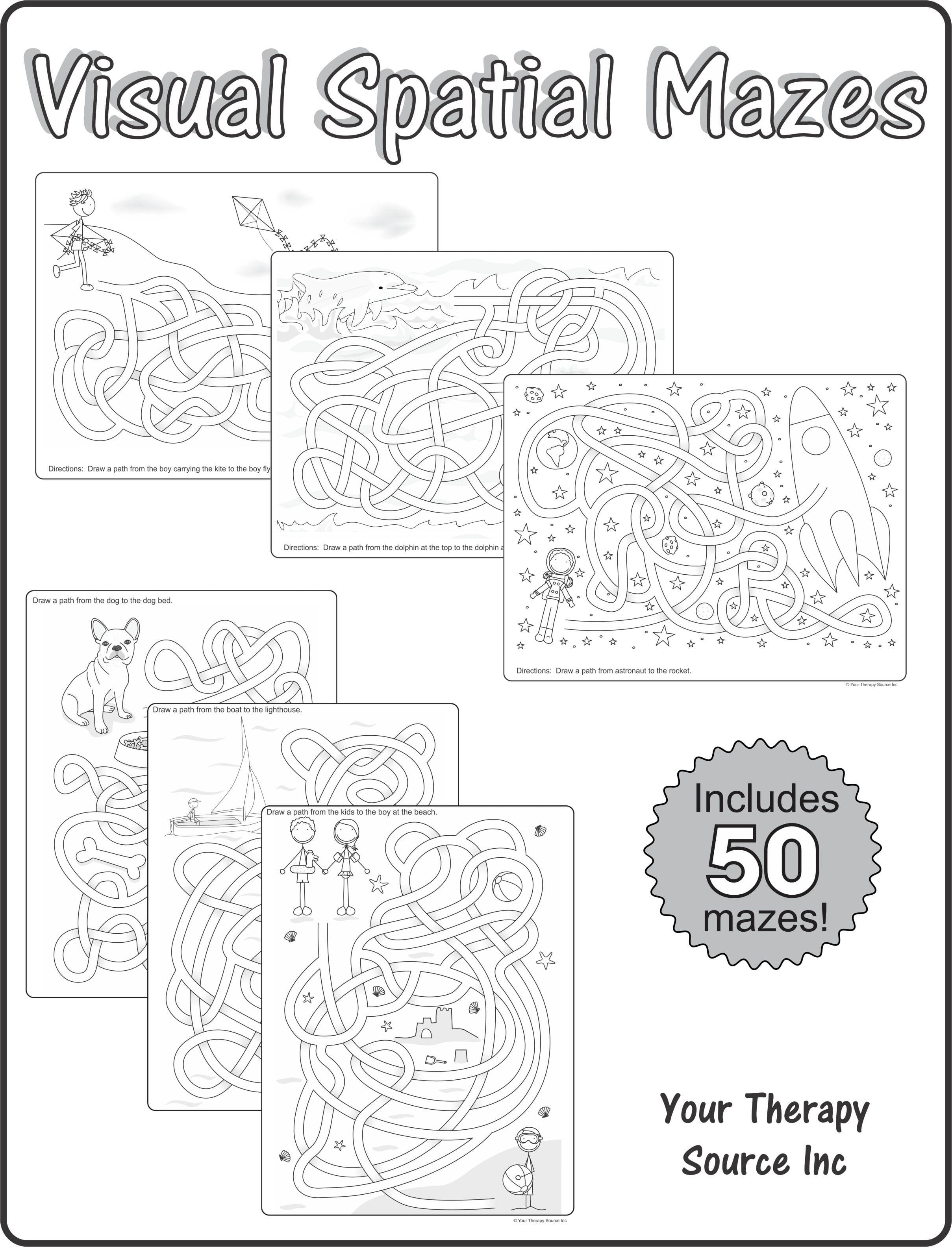 Visual Spatial Mazes