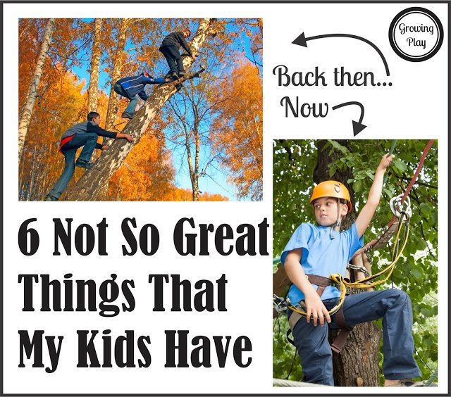 6 Not So Great Things that My Kids Have