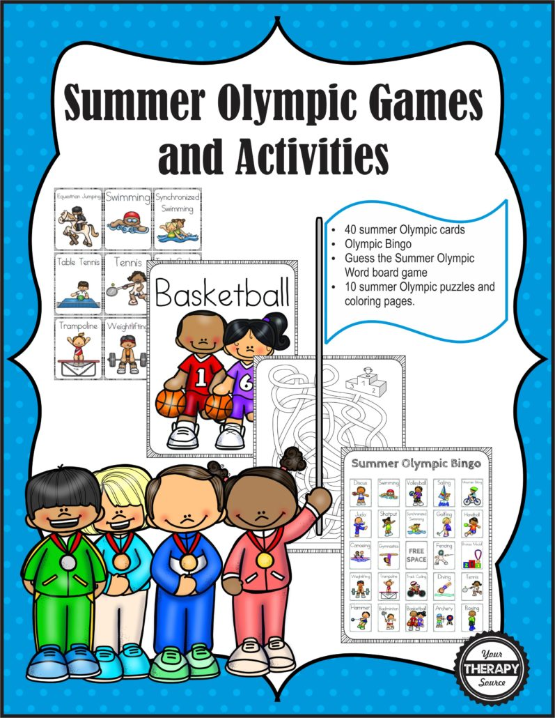 Summer Olympic Cover