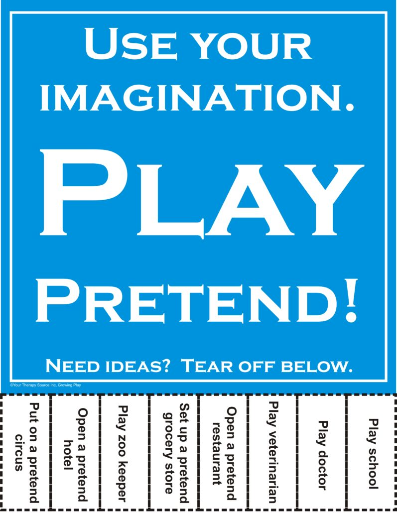 Pretend Play Flyer - Growing Play