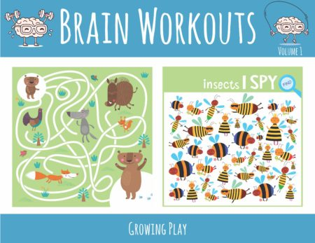 Brain Workouts Volume 1 Cover