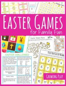 Easter Games for Family Fun