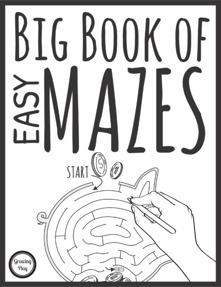 Big Book of Easy Mazes
