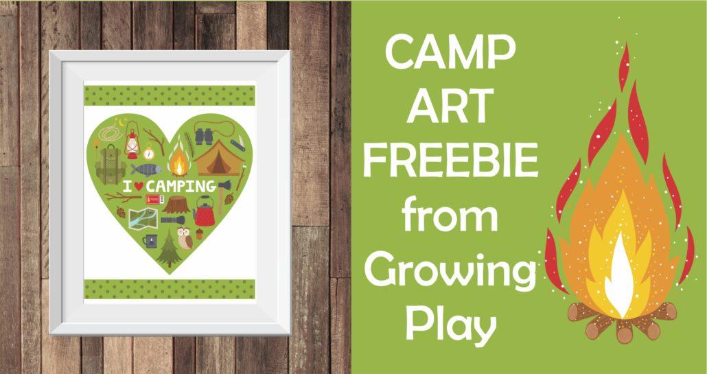 Camp Art Freebie Picture