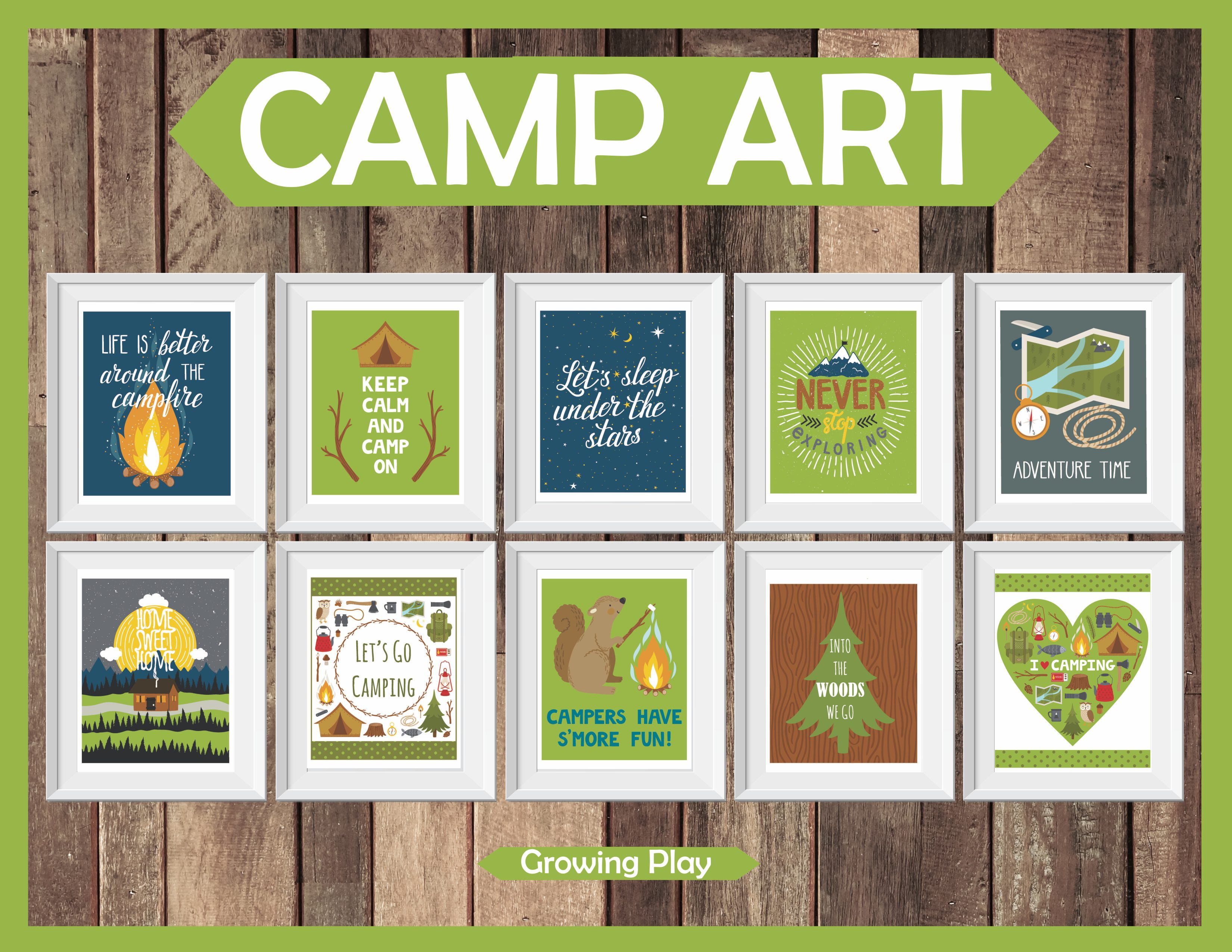 Camp Art Large