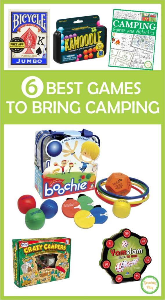 6 Best Games to Bring Camping from Growing Play