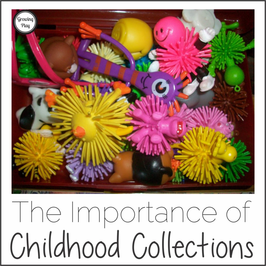 The IMportance of Childhood Collections from Growing Play