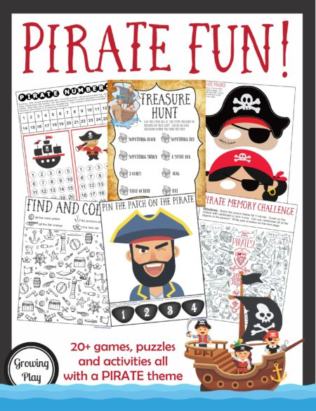 Pirate Birthday Games and Activities