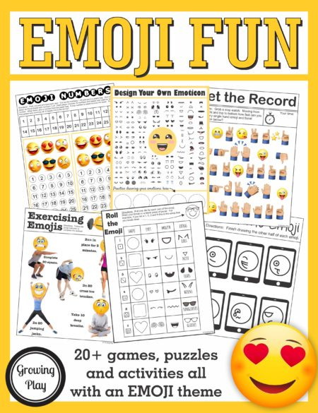Emoji Games and Puzzles