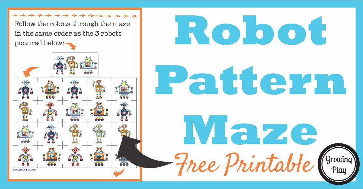 Robot Pattern Maze