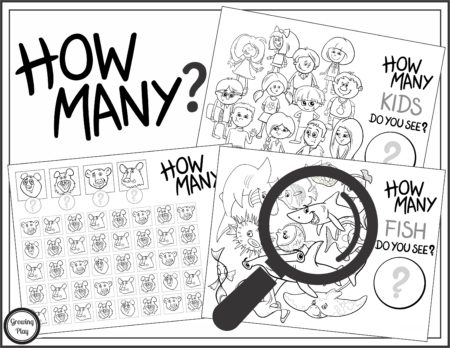 Counting and Visual Perceptual Activity