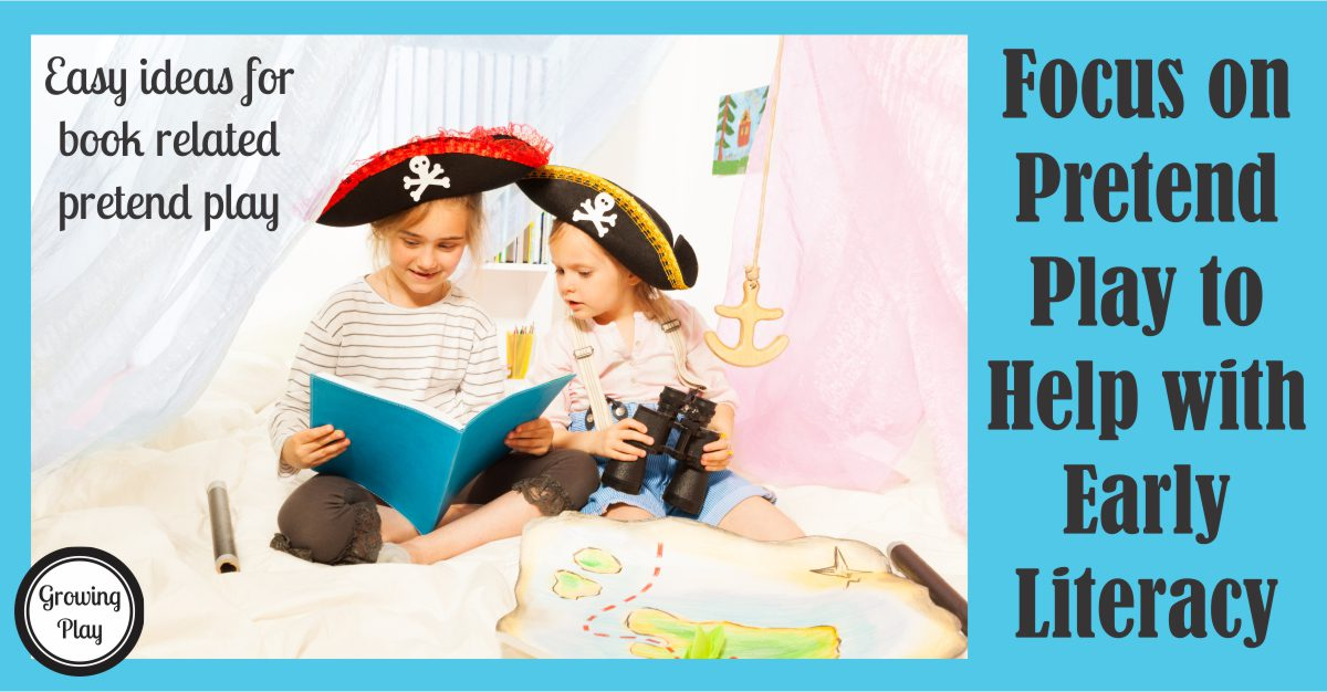 Pretend Play Literacy Ideas