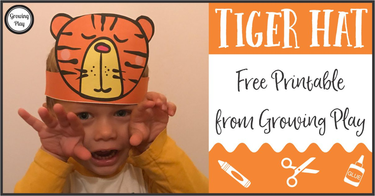 Tiger Animal Hat