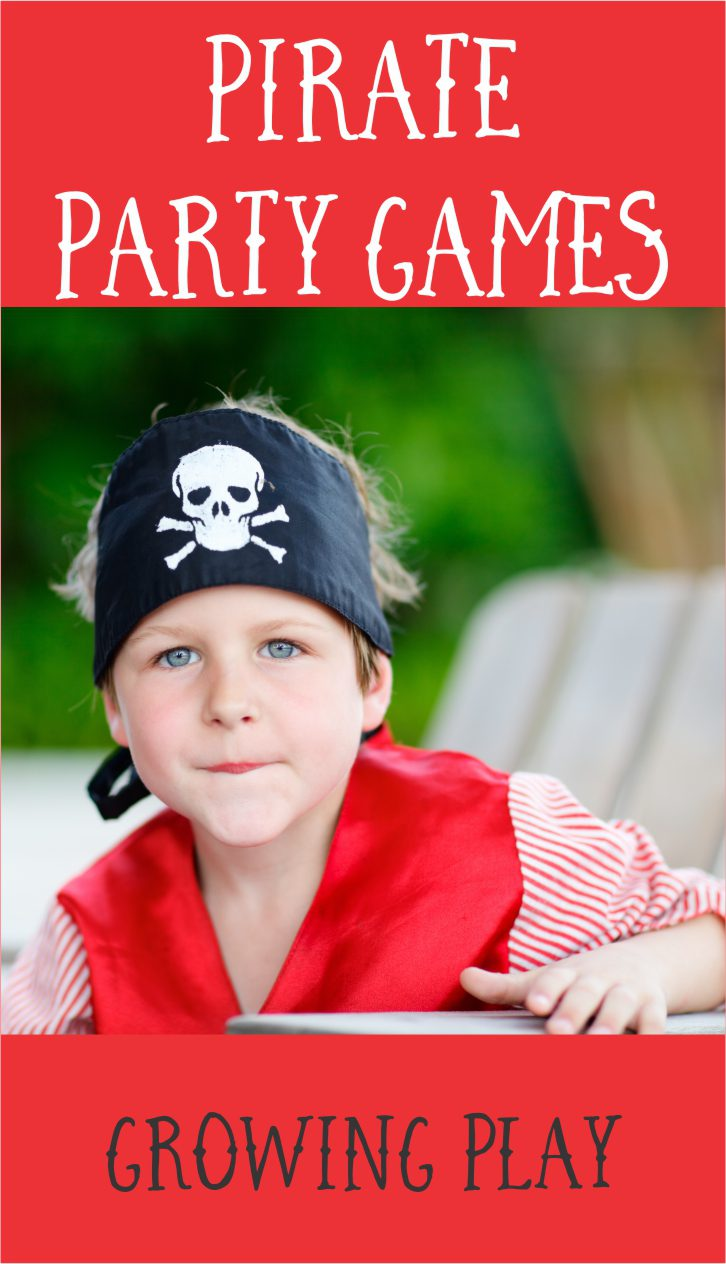 5 Pirate Party Games from Growing Play