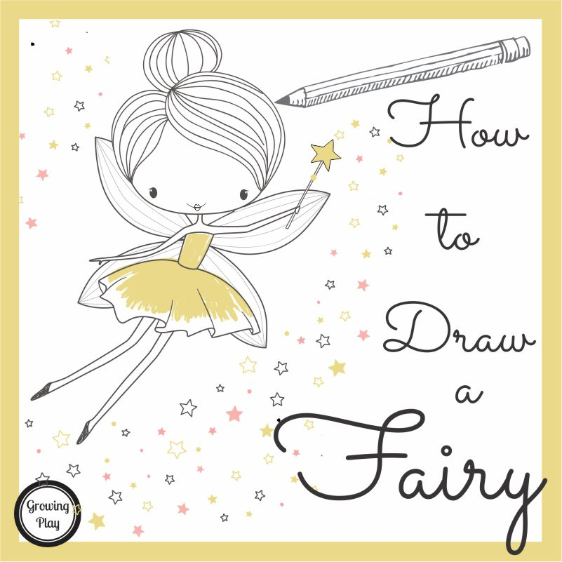 How To Draw a Fairy