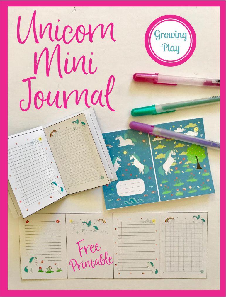 Unicorn Mini Journal