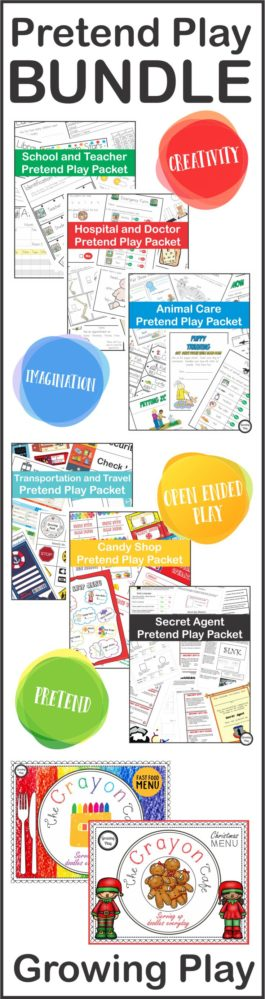 Pretend Play Bundle from Growing Play