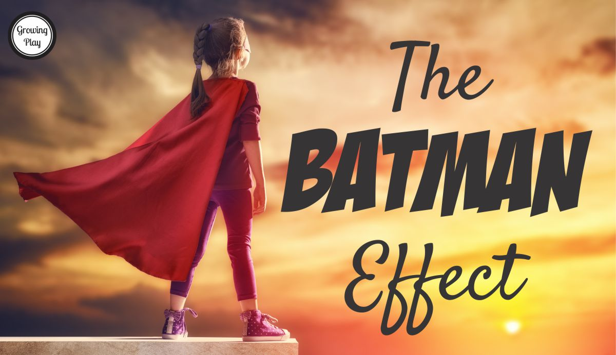 The Batman Effect in Children