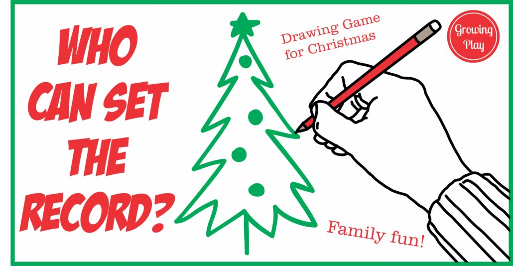 Who Can Draw The Fastest Christmas Tree  Growing Play