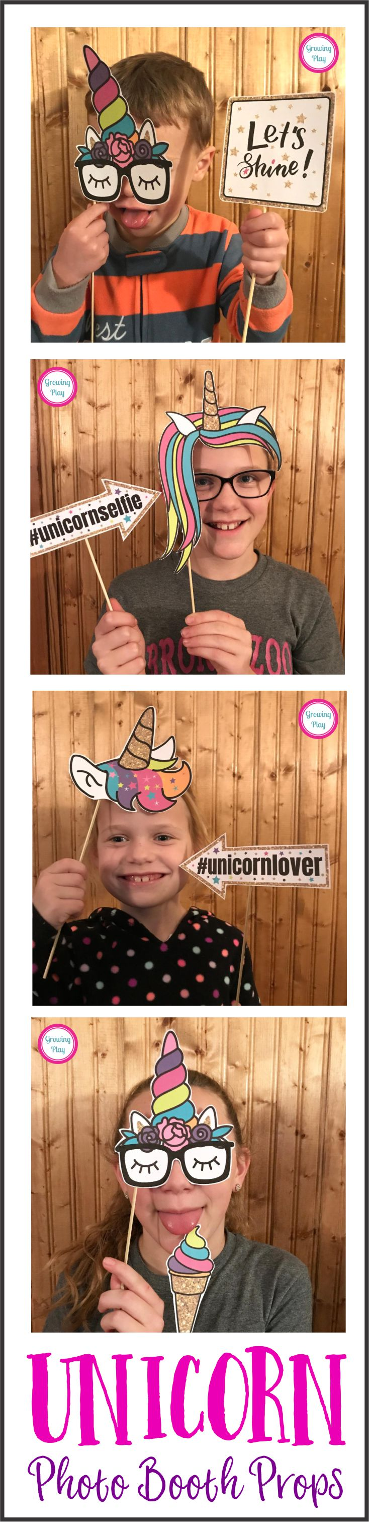 Unicorn Photo Booth Shoot
