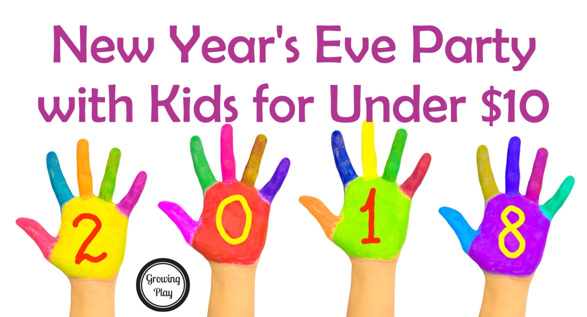 New Year's Eve Party with Kids for Under $10