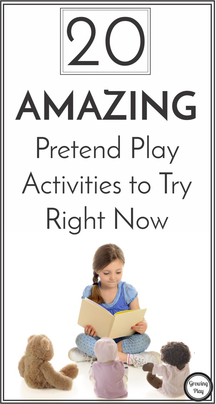20 AMAZING pretend play ideas to try right now