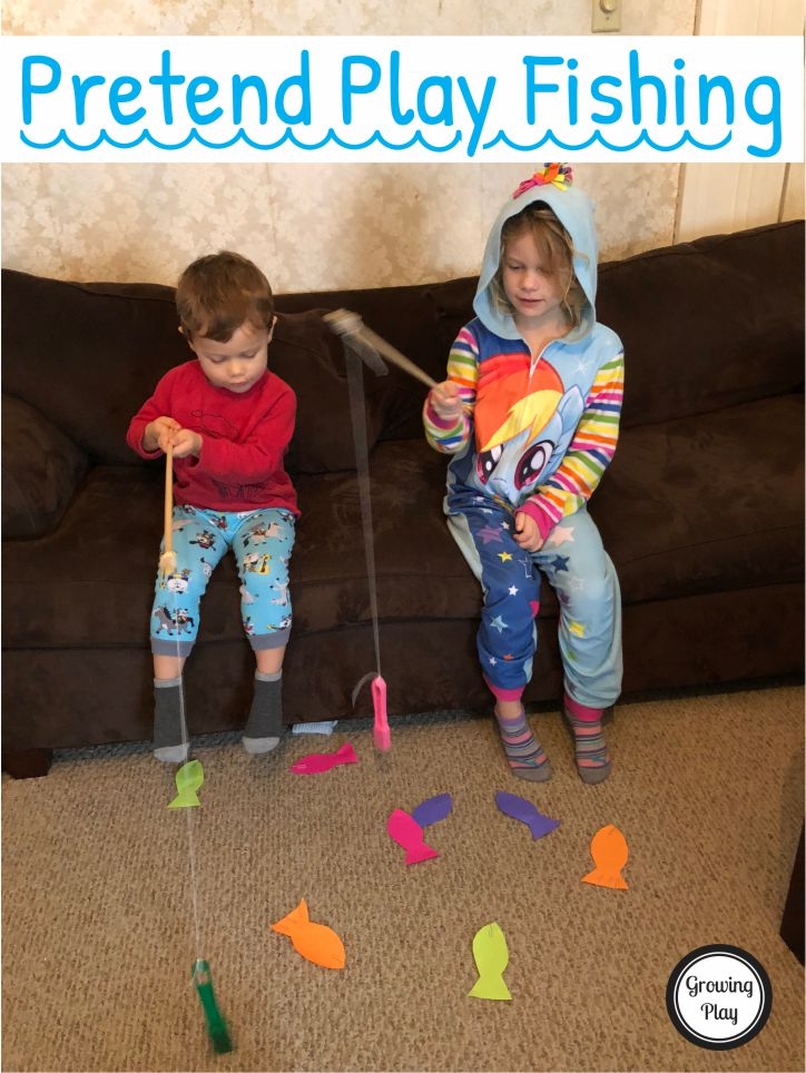 Pretend Play Fishing Indoor Play