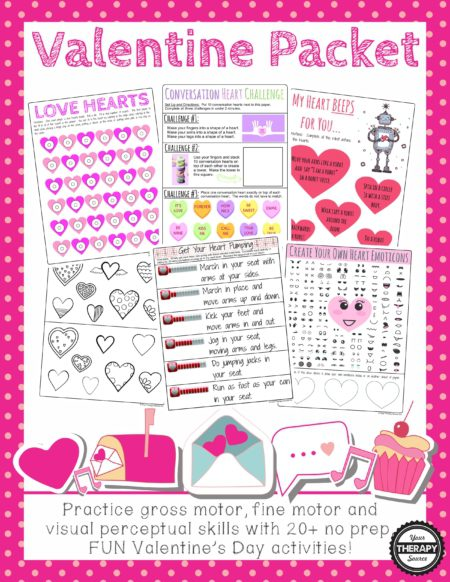 Valentine's Day Packet for Valentine's Parties
