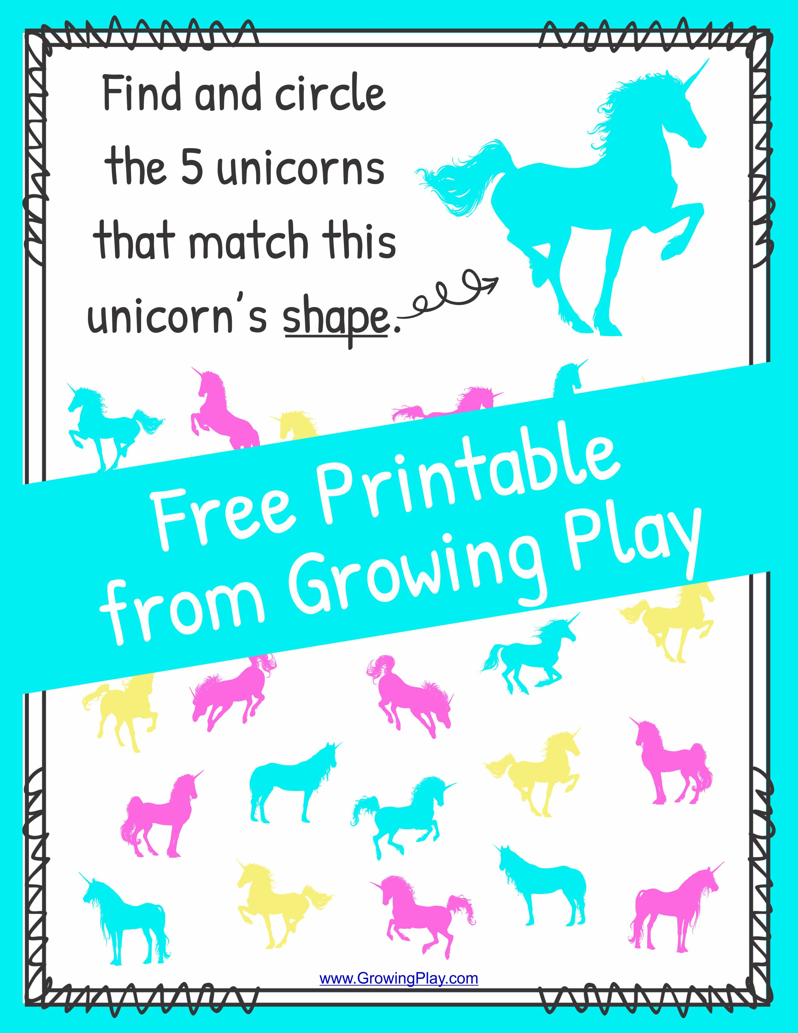 unicorns Archives - Growing Play