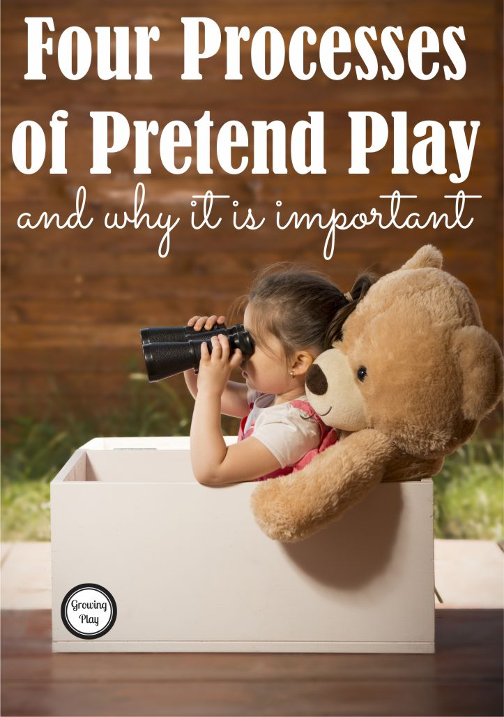 Four Processes of Pretend Play and Why It is Important